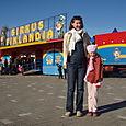 Nea et maman dvt le cirque