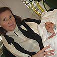 depart du 2eme sejour de la maternite