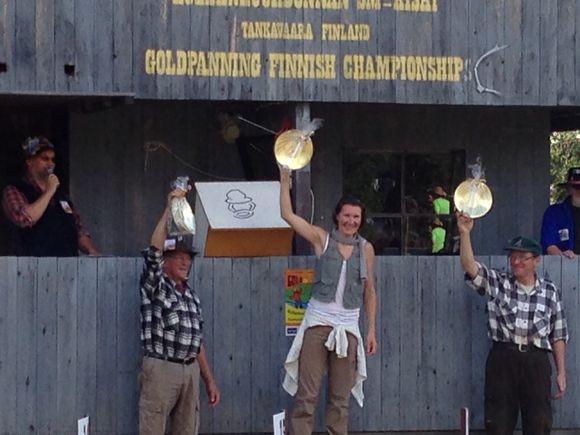 Championne de Finlande 2014